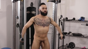 IconMale.com - Zaddy and pierced Max Adonis ass licking porn