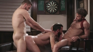 Icon Male - Muscle Link Parker feels the need for doggy fuck