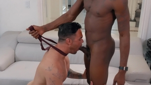 NoirMale.com: Ebony Beau Reed loves plowing hard HD