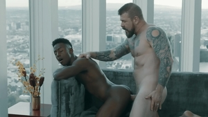 NoirMale - Rocco Steele escorted by Liam Cyber rimjob