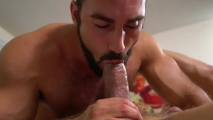 IconMale.com: Hairy DILF Max Stark smashed by huge dick daddy