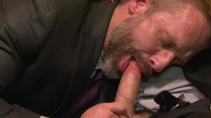 IconMale - Dirk Caber escorted by Adam Russo goes wild on cock