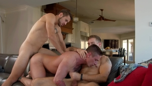 Next Door Buddies: Tattooed Lance Ford with Dante Colle