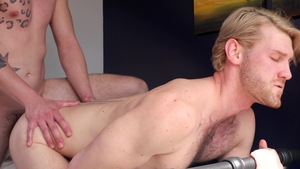 NextDoorRaw: Athletic Johnny Hill raw kissing in the bed