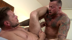MenOver30: Muscle and piercing Hans Berlin rimming