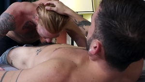 MenOver30.com: Latino Bennett Anthony is so inked gay