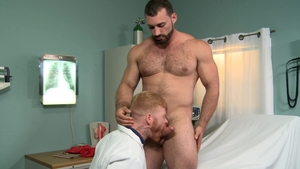 PrideStudios - Muscled Jaxton Wheeler getting a facial video