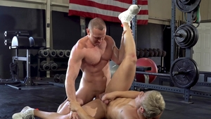 Falcon Studios - Thick Adam Gregory hunk moaning video