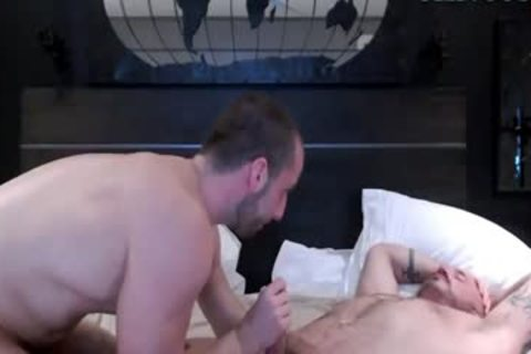 Two Muscle Hunks Have fun On cam