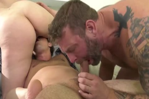 BiPhoria - kinky Uber Driver Joins wild homosexual couple In Backseat