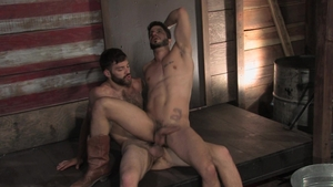 RagingStallion: Ray Han and Tommy Defendi stroking